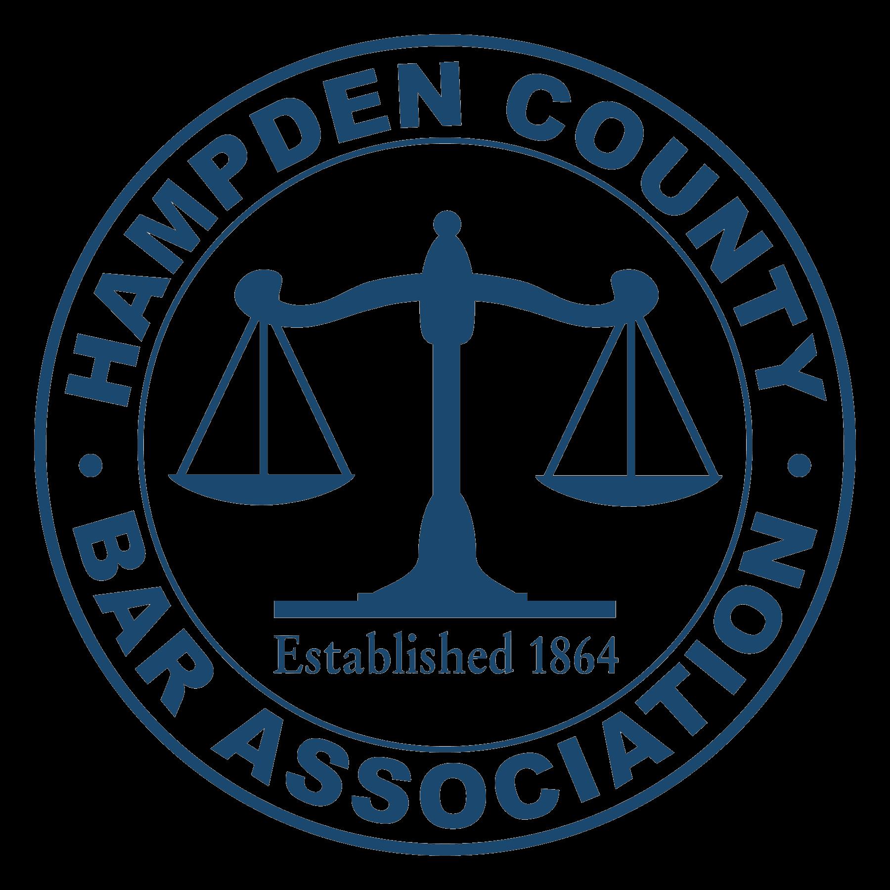 Hampden County Bar Association Logo est 1864